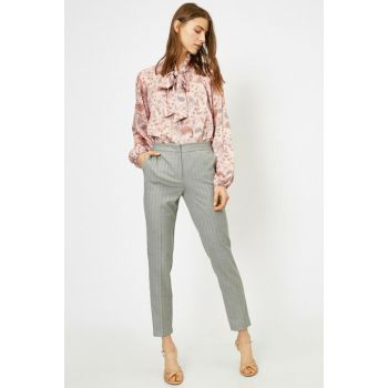 Women's Gray Pants 0KAK42237UW