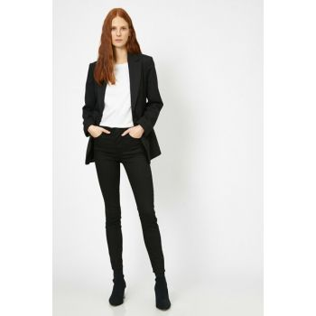 Women Black Trousers 0YAK47643DD