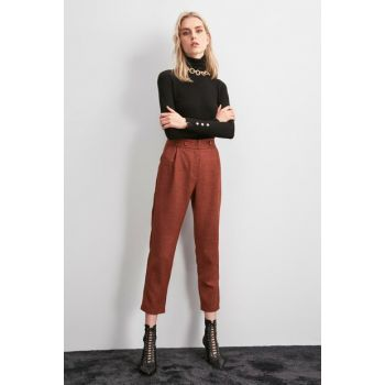 Tile Pocket Detailed Trousers TWOAW20PL0561