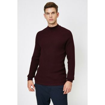 Men's Burgundy Sweater 0KAM97159LT
