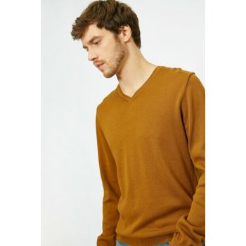 Men's Yellow Sweater 0KAM93012LT