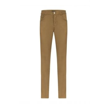 Men's Light Brown Cotton Pants 352709