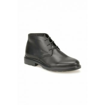 Men's Genuine Leather Black Boots 000000000100333598