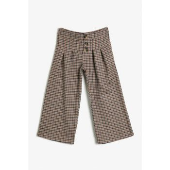 Ecru Girls' TROUSERS 0KKG47987AW