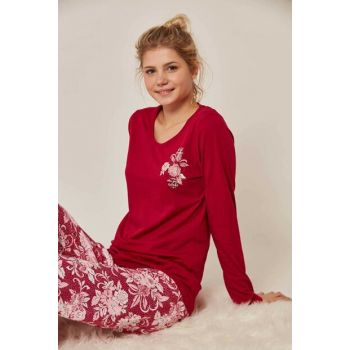 Women's Long Sleeve Pajama Set 803049