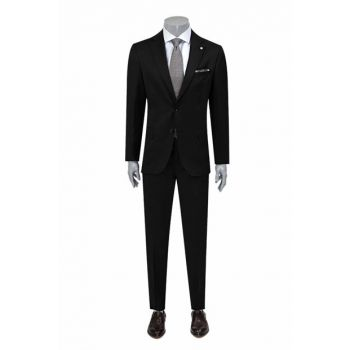 Men's Black Suit Essential 2DFF5GUEX532_001