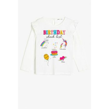 Ecru Children's T-Shirt 0KKG17970AK
