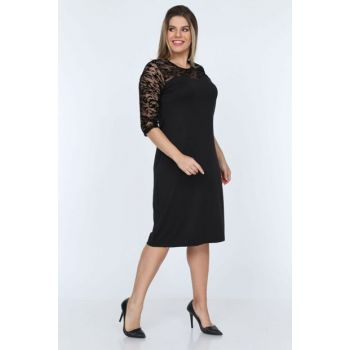 Women's Black Zebra Pattern Ruched Dress 13D-0776