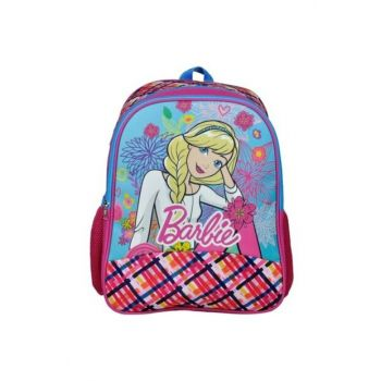 Barbie Silvery Two Compartment Primary School Bag (Hakan 96522) HKN96522