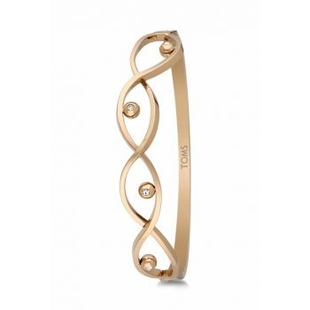 Women's Gold Color Steel Bracelet TMJ10412-512-G