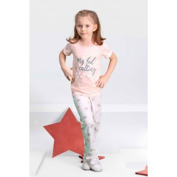 My Bed Pink Girl Pajamas Set for Children AR-109-C-V2