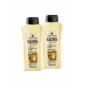 Ultimate Oil Elixir Shampoo 525 ml x 2 SET.HNKL.432