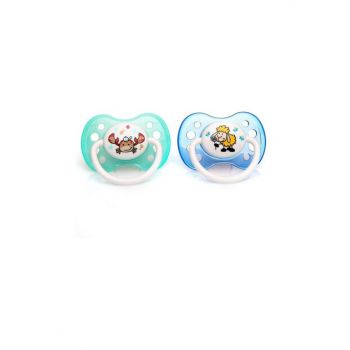 Silicone False Pacifier 5-18 Months 2li 8680075433488