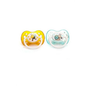 Silicone Soother 0-6 Months 2li 8680075433471