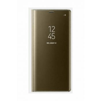 Samsung Note 8 Clear View Stand Case Gold DYK02507A