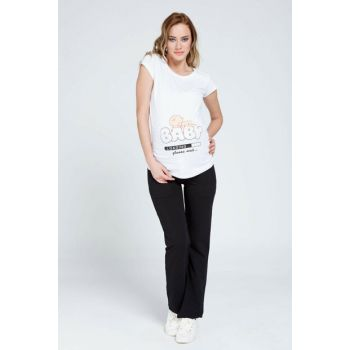 Pregnant Black Trousers Black Ty3392 TY3392