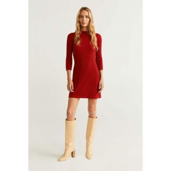 Women's Red Jersey Jersey Dress 53083733