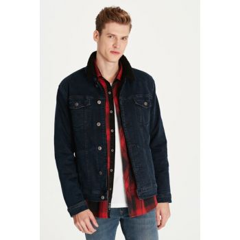 Men's Frank Jean Jacket with Fur 0115229627