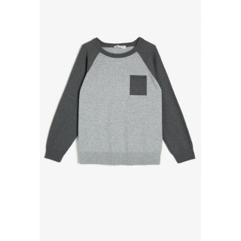Gray Children Sweaters 0KKB96298GT