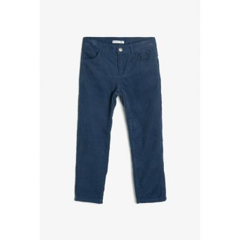 Navy Blue Children's Pants 0KKB46158OW