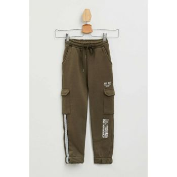 Stripe Detailed Printed Jogger Pants M8472A6.19AU.KH55