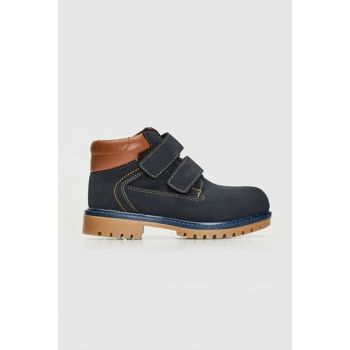 Boys' Navy Blue Crp Boots 9W8193Z4