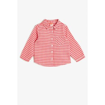 Red Girl's Plaid Shirt 0KMG69505OW