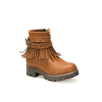 SVF81.1.P Brown Girls Boots