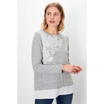 Women's Snow Melange T-Shirt 9WJ932Z8