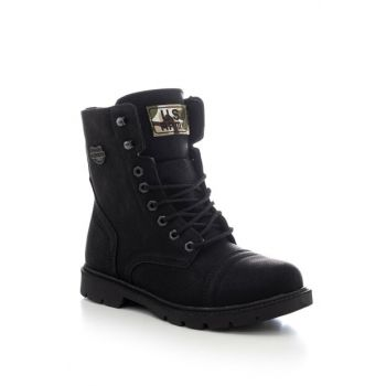 Black Unisex Boots & Booties TB2960-0