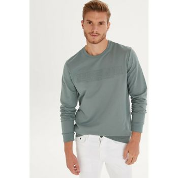 Men's Matte Green T-Shirt 9W5486Z8