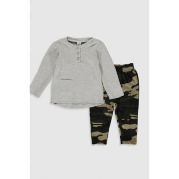 Baby Boy Gray Ctk Suit 9WT666Z1