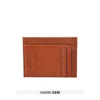 Taba Men Genuine Leather Textured Card Wallet TMNAW20CU0020