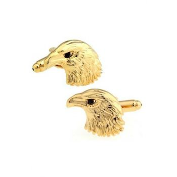 GoldenColor Eagle Cufflink ACDQUZ37
