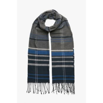 Men's Anthracite Scarf 8KAM55244OA