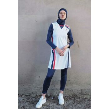 Women's Full Hijab Volleyball Team V-604B