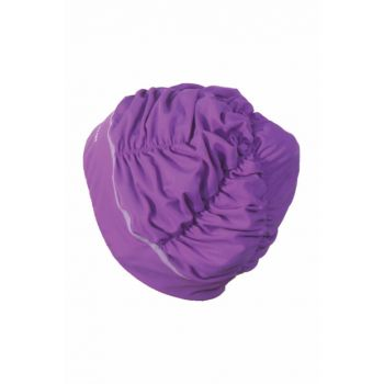 Tryon LYB300 Lycra Long Hair Swimmer Cap Purple LYB-300m