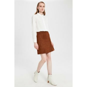 Women's Brown Skirt 9WP259Z8