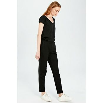 Women's New Black Trousers 9WP419Z8
