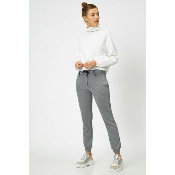 Women's Gray Trousers 0KAL48580IK