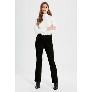 Women's New Black Pants 9WU425Z8