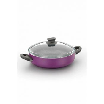 A1110 Lina Purple 28 Cm Short Cookware