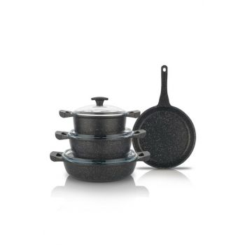 7 Pieces Grau Casting Set - Black 14792