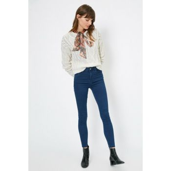 Women Blue Trousers 0YAK47643DD