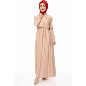 Women's Salmon Dress 00218YBELB01033