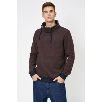 Men's Red Sweater 0KAM91777LK
