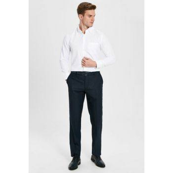 Men's Navy Blue Trousers 9W1957Z8