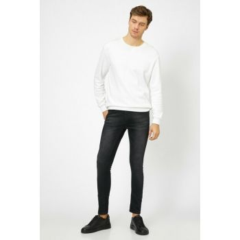 Men's Black Jeans 0KAM43082MD