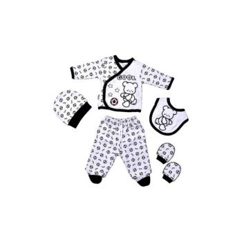 Besiktas Hospital Outlet Newborn Baby 5 Pieces Cotton Layette Set 9621133390377CLP