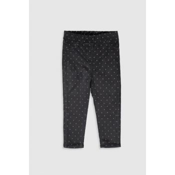 Baby Girl Anthracite Printed Lq9 Pants 9W5226Z1